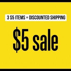 ‼️$5 clearance LAST CHANCE SALE‼️